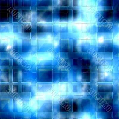 Icy lattice