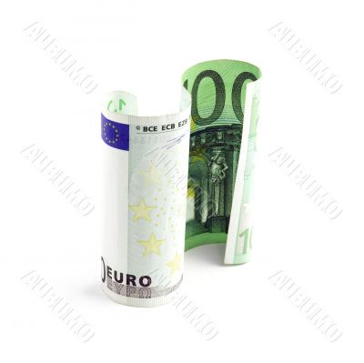 one undred euro bill