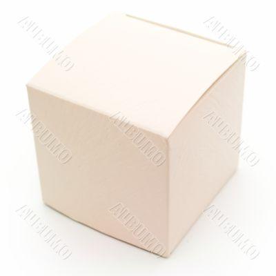 Beige fancy box