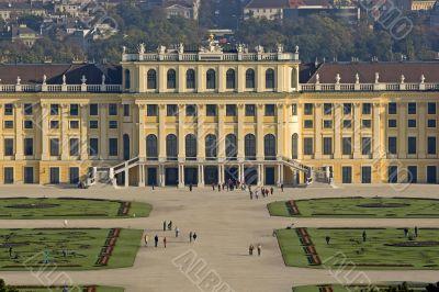 Schoenbrunn castle, Vienna