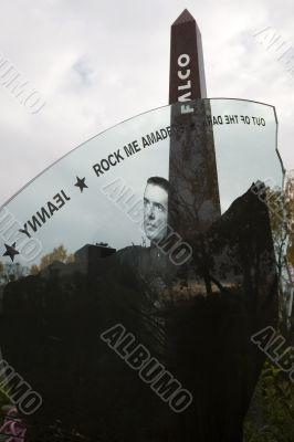 burial place Falco, Vienna