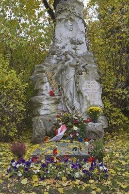 burial place Johann Strauss, Vienna