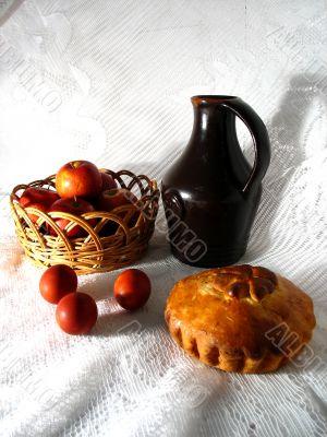 Jug and White Bread