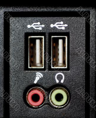 USB Hubs and Audio Sockets
