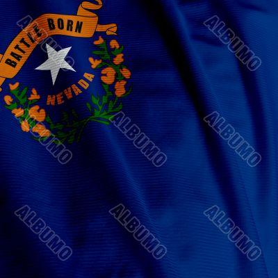 Nevada Flag Closeup