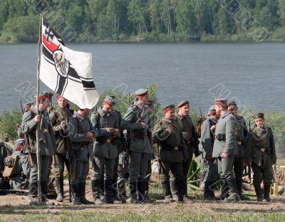 World War 1, reenacting