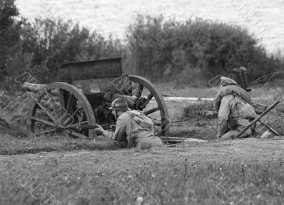 World war 1 reenacting
