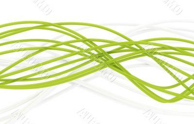 fibre-optical green cables