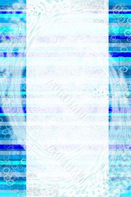 Wonderful  blue background