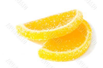 Colourful fruit marmalade