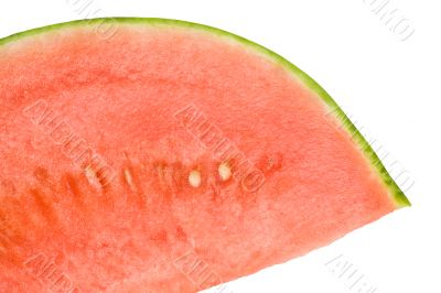 Cool Refreshing Watermelon Wedge