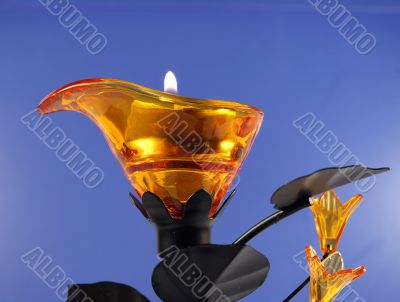 candle in candlestick