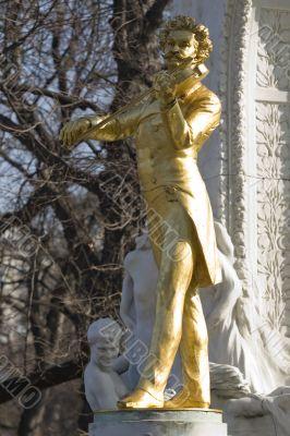 Johann Strauss Monument Vienna