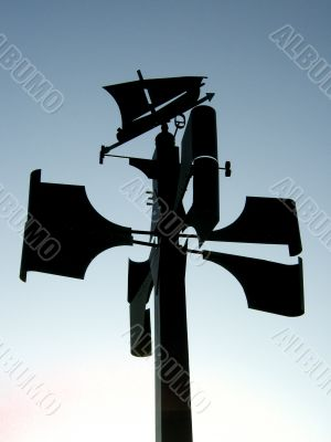 pointer for wind direction