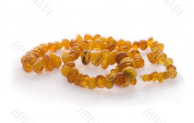Adornment from amber