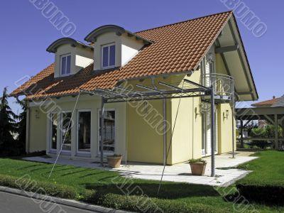 stylish house
