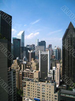Midtown Manhattan Facing North