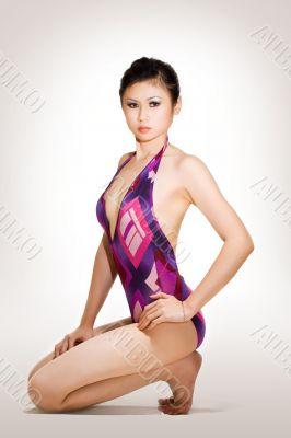 beautiful sensual asian woman