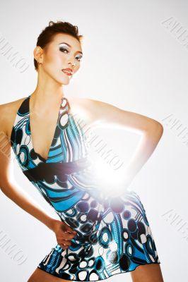 gorgeous sexy asian woman
