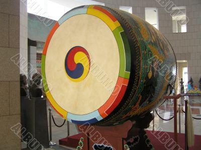 Korean Peace Drum at National Memorial