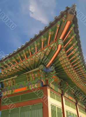 Traditional temple in South Korea