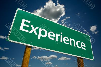 Experience Road Sign