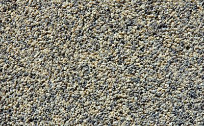 Pebble textured wall