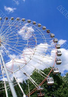Wonder wheel in the park