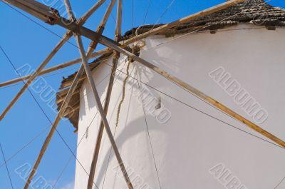 Windmill on Santorini Greece