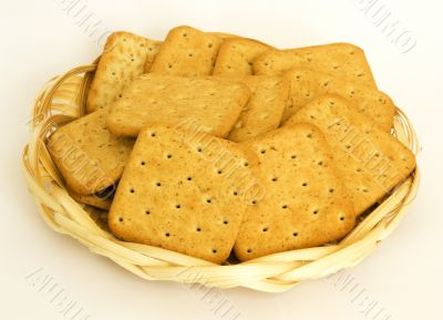 crackers with rye brans