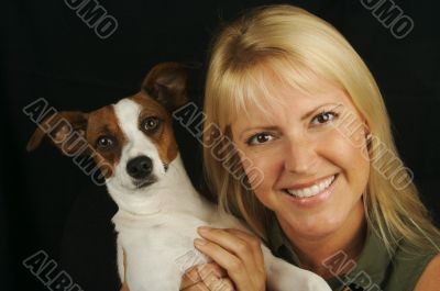 Attractive Woman & JRT
