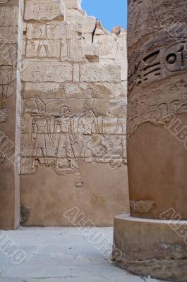 Columns in Karnak