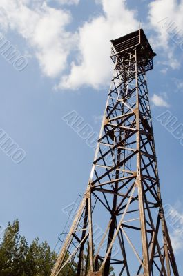 Observer tower