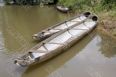 Flying bomb boat, Laos
