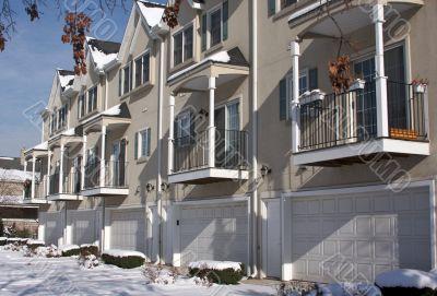 Modern Apartment Facade