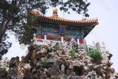 Ancient temple of emperor in Forbidden City