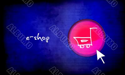 web button - e-shop