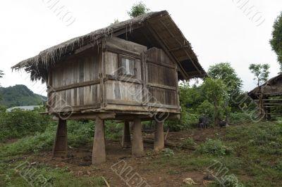 Lodge built with war scrap