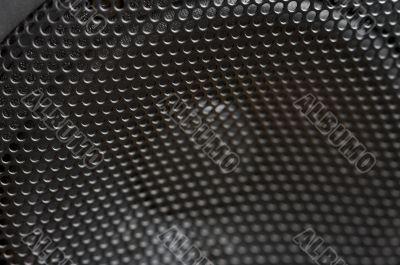 Abstract Macro of Speaker Mesh