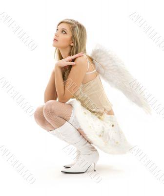 furry skirt angel