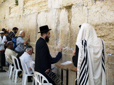 Walling wall in Jerusalem