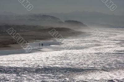 Dramatic California Shoreline