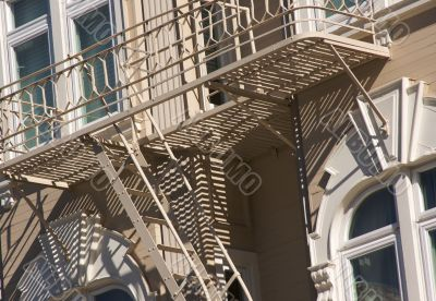 Abstract Fire Escape