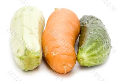 raw vegetables close up