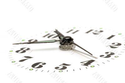 clock dial close up