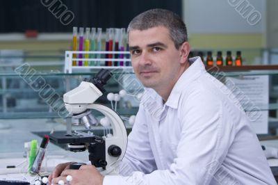 Portrait of a researcher