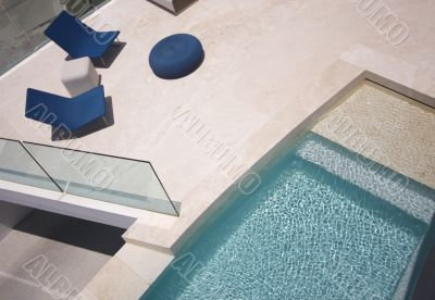 Custom Luxury Pool and Chairs