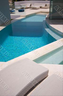 Custom Luxury Pool and Chairs