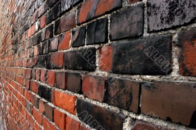 Brick wall and prospect
