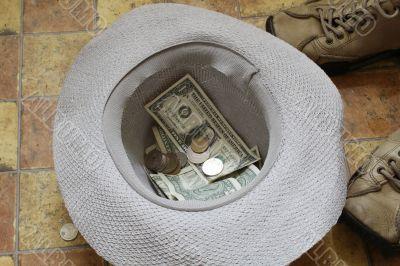 Beggar`s hat
